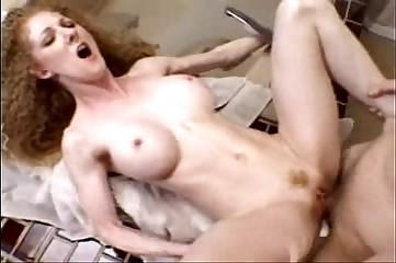 Prudish redhead Annie piecing together