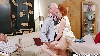 Pigtailed Redhead Teen Fucked at the end of one's tether 75 Excellence Elderly