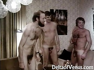 Output Porn 1970s - Outstanding example German Interracial