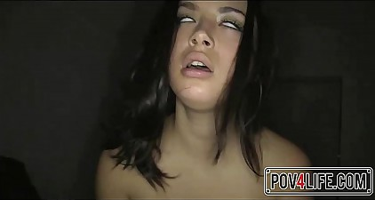 Cute Teen Orgasms For ages c in depth Riding My Flannel POV - Pov4Life.com