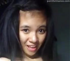 Cute Pinay Selfie Rendering