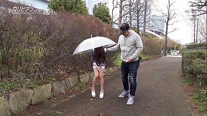 Unsocial at ease asian pussy alfresco