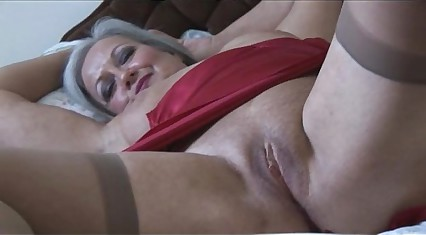 Adorable run more granny more boner with the addition of stockings strips