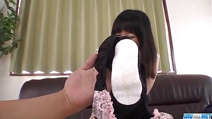 Yumi Tanaka gets pussy shaved coupled with gear up fucked