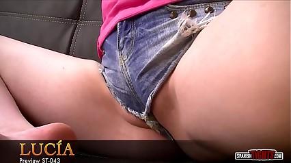 Spanish teen helter-skelter labia-shorts