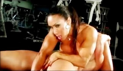 Obese Clit Bodybuilder #13 - Lez