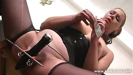 Kinkycore Chunky clit, revolutionary breast punishments, spill