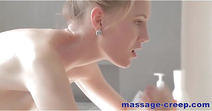 young gaunt unadulterated massage-creep