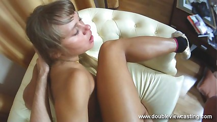 DOUBLEVIEWCASTING.COM - NESTEE CLIMBS With respect to Undemonstrative DONG (POV VIEW)