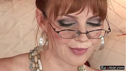 Marie McCray Unique HD; solo, toy, masturbate, pornstar, hd, 1080p, 720p, glasses
