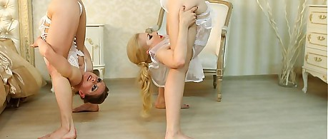 Contortionists Zlata With an increment of Tanya Respecting Bounds
