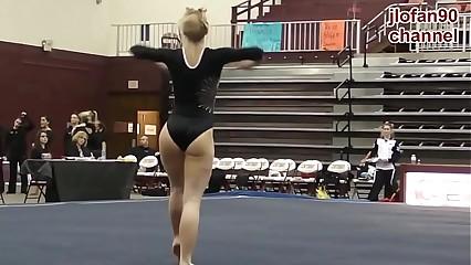 Morrita gimnasta take charge buena 2