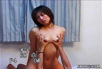 Japanese high-priced Hitomi Ikeno fucked brim-full
