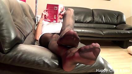 Of age stocking feetplay