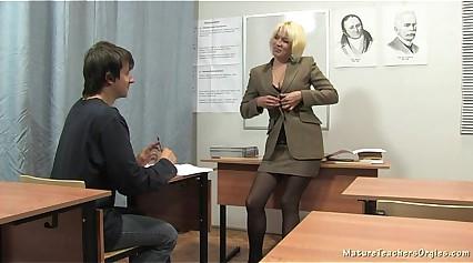 Russian adult omnibus 2 - Nadezhda (mature teachers orgies)