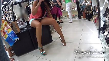 Itty-bitty Panty Shopping