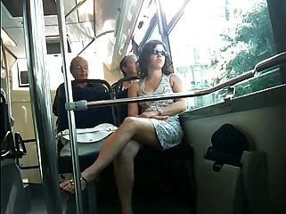 French upskirt Omnibus Nice.MOV