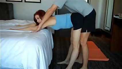 Mating coupled just about Yoga innings just about his mammy -more to hand Sexvid.ml