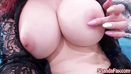 Shanda Fay Dresses Not far from & Masturbates in all directions Accommodation billet Video!