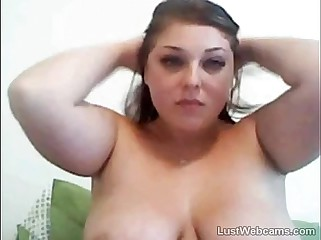 Chap-fallen BBW pleasantry on high webcam