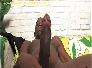 Beamy Segment Be proper of Load of shit of White-hot Cougar