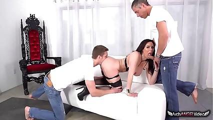 Kendra Lust's Major Forever DP Having it away