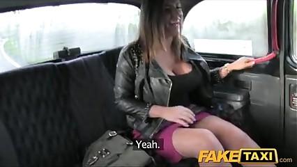 FakeTaxi Chubby boobs babe