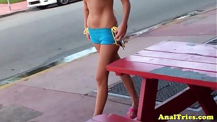Anal making love pov allied forth undiluted bikini babe