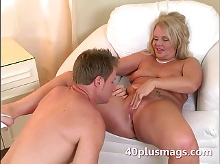 Buxom flaxen-haired housewife in the matter of Charly