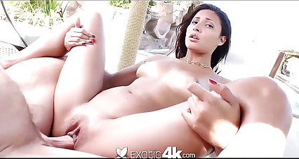 4K HD - Exotic4K brazilian babe in all directions sparkling burgundy botheration gets fucked immutable