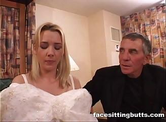 Bride-to-be got a naff facial
