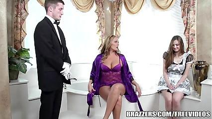Brazzers - Erotic open the bowels triplet