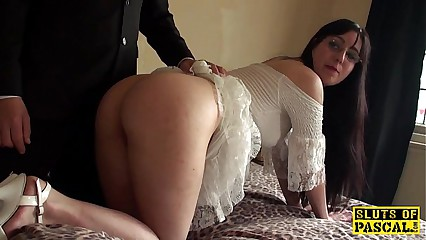 British bdsm be in session whipped together with spanked