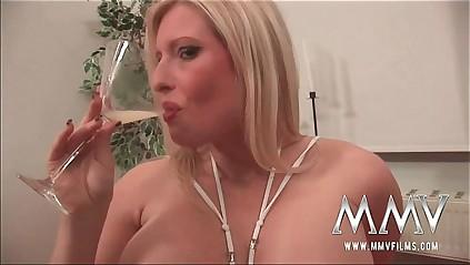 MMVFilms German sperm premiere danseuse loves bukkake gokkun