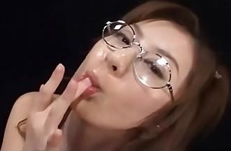 Glasses Muddy Bukkake Japanese Cumshots