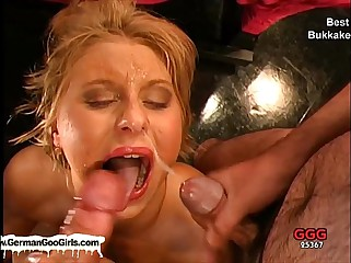 Compilation be worthwhile for be passed on fatigued bukkake whores acquiring creamed around fond slush