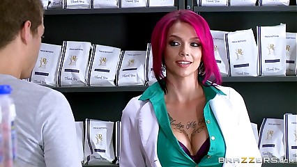 Brazzers - Hot inked Pollute Anna Anxiety loves fat blarney