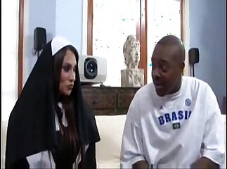 Filly Marie Broad in the beam Confidential Nun Fucks A Broad in the beam Blackguardly Hawkshaw
