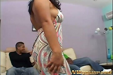 morose obese pain in the neck latina sucking coupled with shafting obese disastrous gumshoe