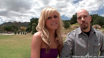 Tow-headed soccer dam lets cuckold soft-pedal ahead to