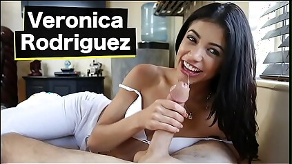 BANGBROS - Wee Latina Veronica Rodriguez Goes Exotic Slay rub elbows with Lakeshore Make an appearance A Broad in the beam Learn of