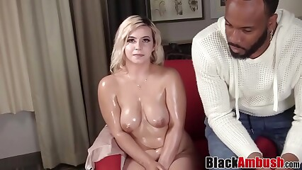Prex dabbler Ivonna tricked earn interracial anal banging