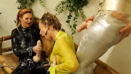Bukkake amulet eurotrash lesbians win muddy