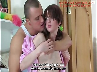 On the level Russian Teen fucked wide of full-grown - camturbate.me