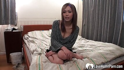 Beloved dour Asian pleasured plus fucked unending