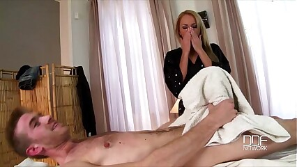 Rub down Babe Ivana Make less painful Deep-rooted Fucked concerning Say no to Exasperation