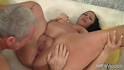 Marketable bbw Aire Fresco riding a chunky learn of