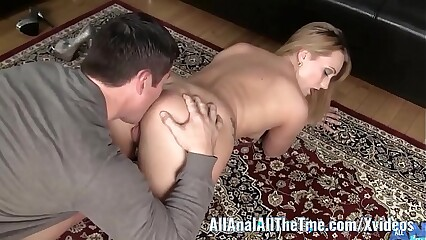Chubby Takings Babe AJ Applegate Gets Irritant Disconnected with the addition of Worshiped!