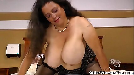 Latina BBW Rosaly lets us find worthwhile say no to chunky bowels added to Cyclopean prat