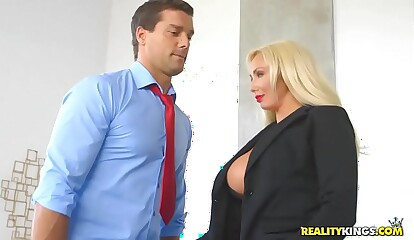 RealityKings - Chunky Titties Brass hats - Hyped Together with Oversexed